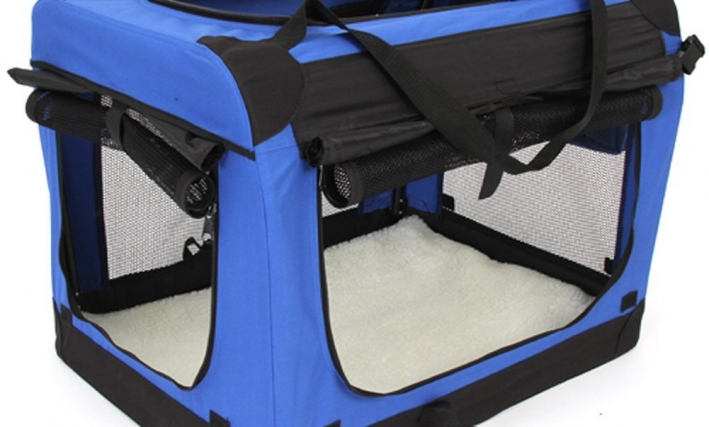 amzdeal® faltbare Hundetransportbox
