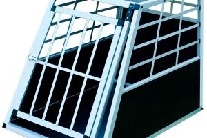 zoomundo 63882996 Alu Hunde Transportbox 1-Türig